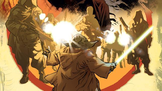 Copertina del fumetto su Yoda