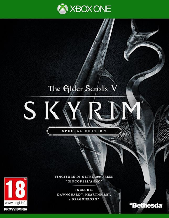 Skyrim in scontro per Xbox One, Packshot