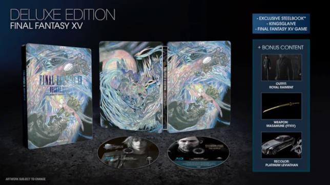 Le edizioni da collezione di Final Fantasy XV