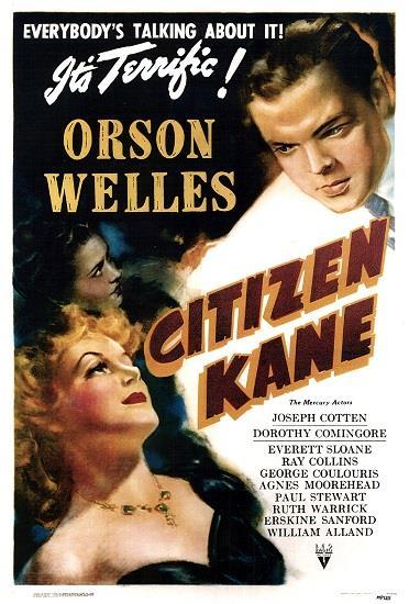 Il poster originale di Citizen Kane