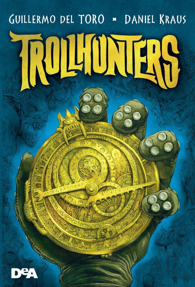 Trollhunters copertina libro