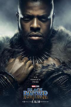 Winston Duke è M'Baku nel character poster del film Black Panther