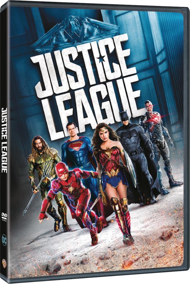 Packshot di Justice League in DVD