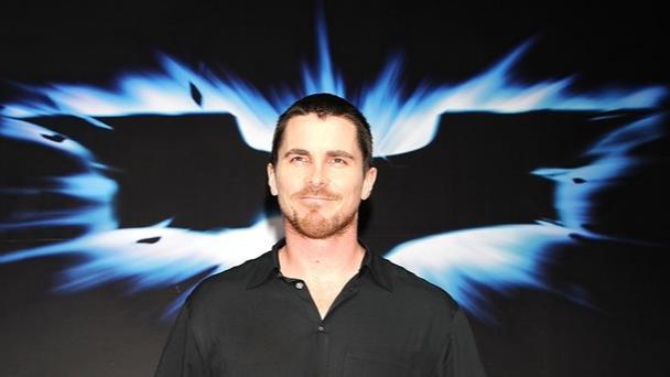 Christian Bale alla prima de Il Cavaliere Oscuro - Il Ritorno in Giappone