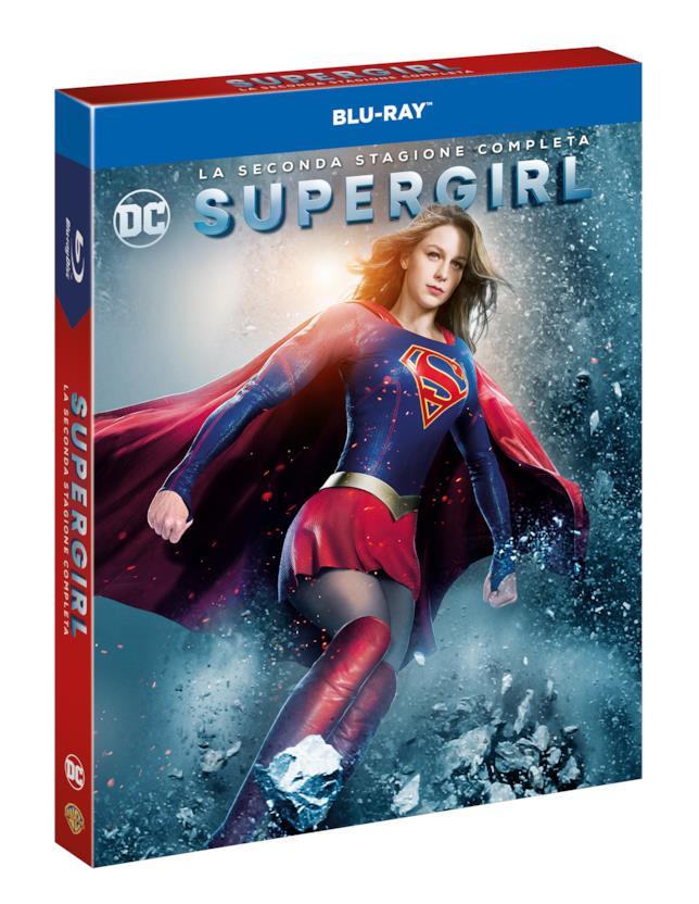 Il cofanetto Blu-ray con i 22 episodi della stagione 2 di Supergirl