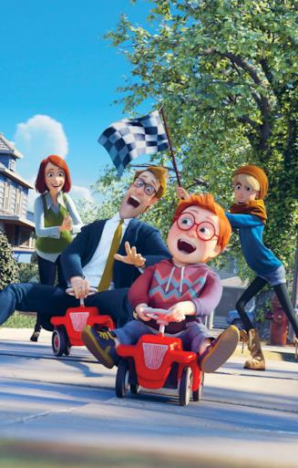 Monster Family, film animazione