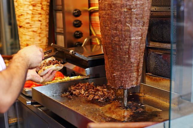 Due rotoli di Kebab