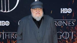 George R. R. Martin alla prima di Game of Thrones 8