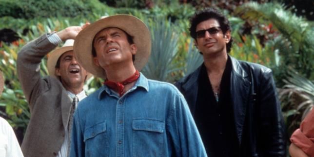 Jeff Goldblum e Sam Neil