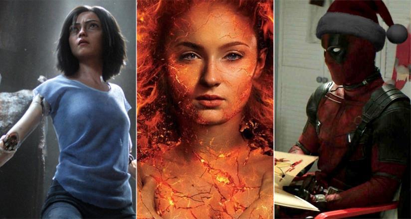 Alita, Dark Phoenix e Deadpool