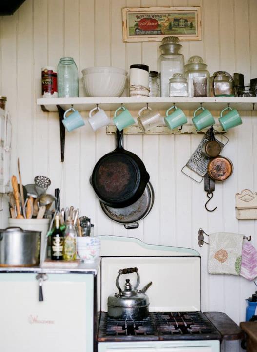 Chissà che bello prepararsi il tè nella cucina di Jessica Fletcher