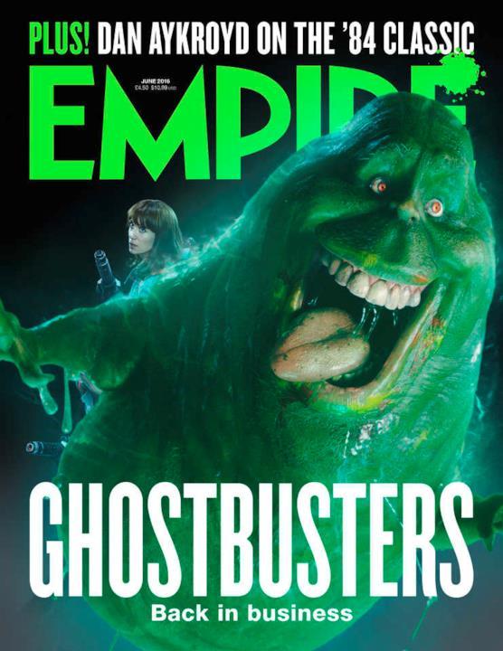 Slimer sulla copertina di Empire