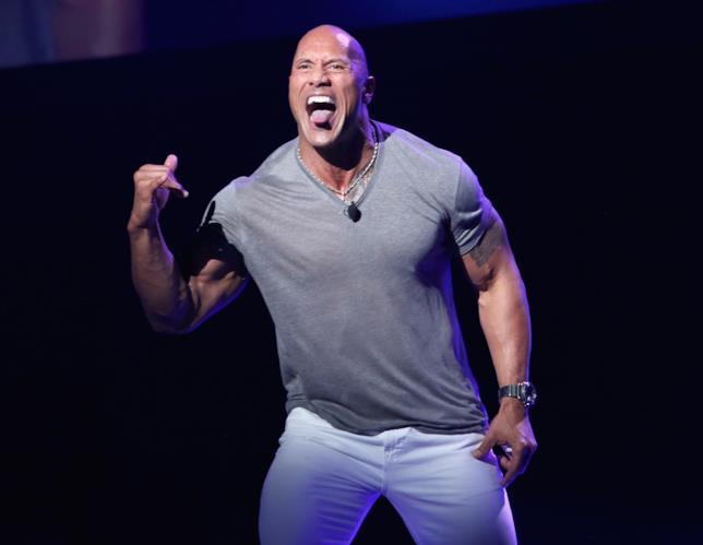 Dwayne Johnson, meglio conosciuto come The Rock