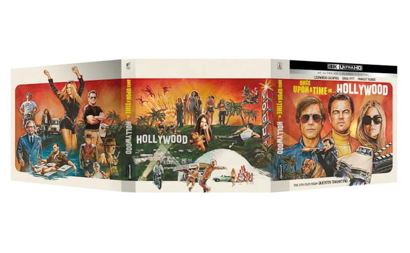 C'era una volta…a Hollywood - Vinyl Edition con film in formato 4K