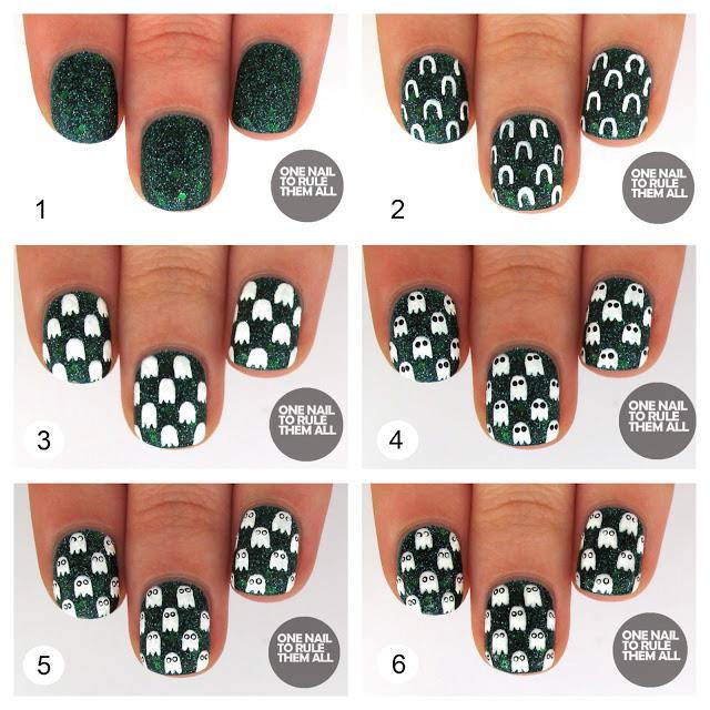 Un piccolo tutorial per una manicure perfetta per Halloween