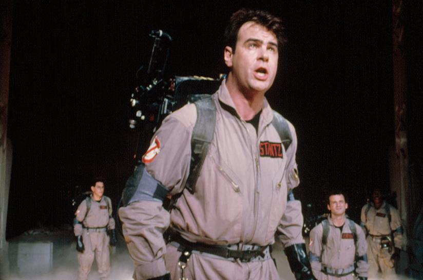 Dan Aykroyd in una scena di Ghostbusters - Acchiappafantasmi