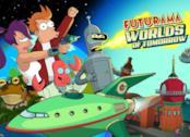 La cover ufficiale di Futurama: Worlds of Tomorrow