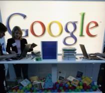 Stand di Google a una fiera