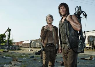 The Walking Dead: Carol e Daryl