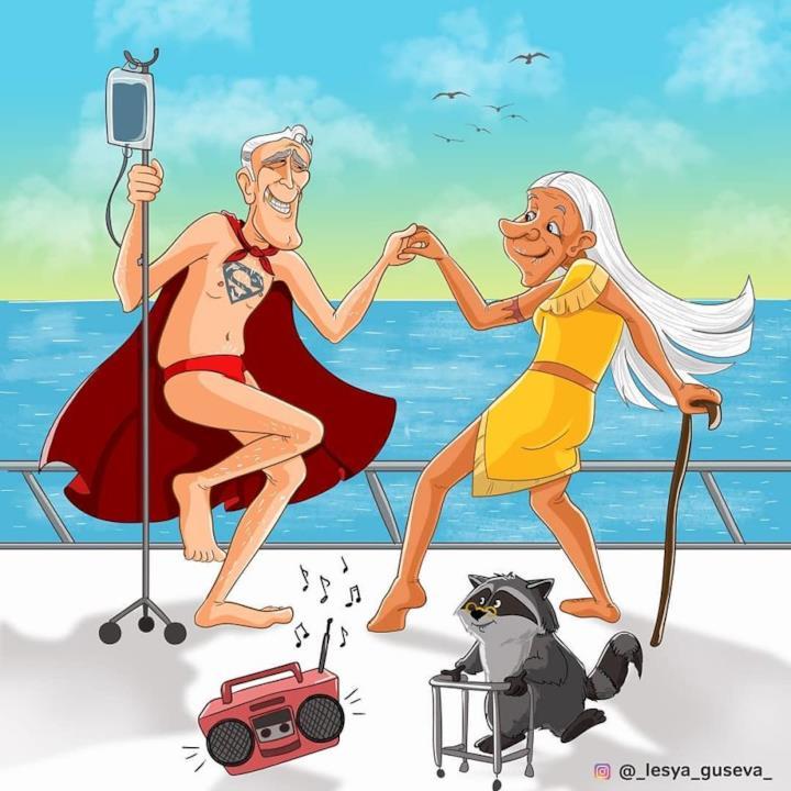 Supereroi in pensione: Pocahontas e Superman