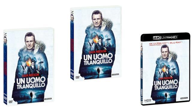 Un uomo tranquillo - Home Video - DVD - Blu-ray - 4K
