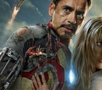 Tony e Pepper in Iron Man 4