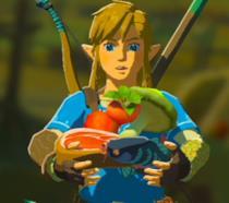Link mentre cucina in Zelda: Breath of the Wild