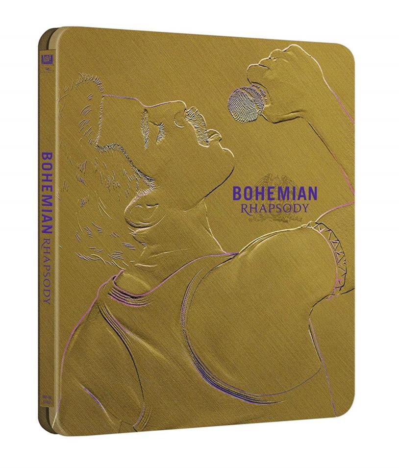 L'edizione Steelbook di Bohemian Rhapsody