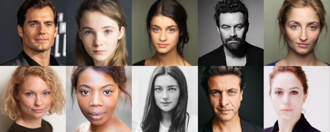 Il cast di The Witcher