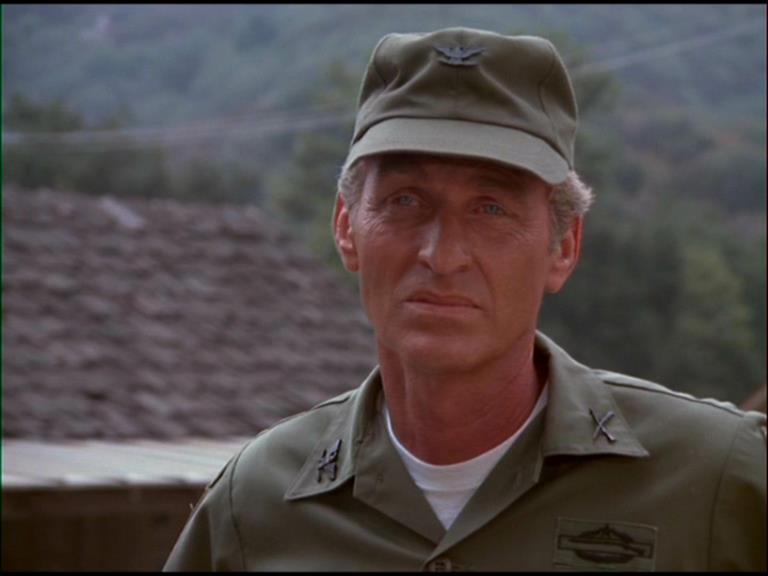 L'attore LanceLeGault in A-Team