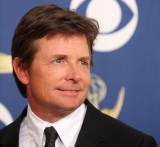 Michael J. Fox in primo piano