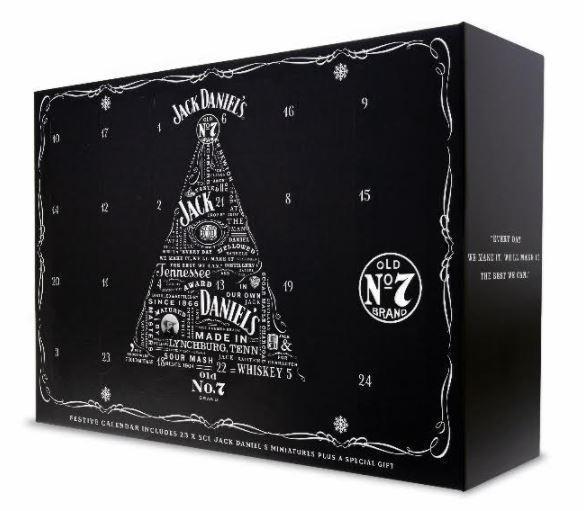 Il calendario dell'avvento Jack Daniel's