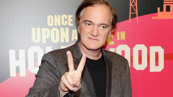 Quentin Tarantino alla presentazione del suo nuovo film Once Upon a Time in Hollywood