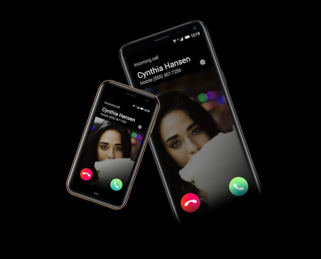 Palm in sincronizzazione con un altro smartphone