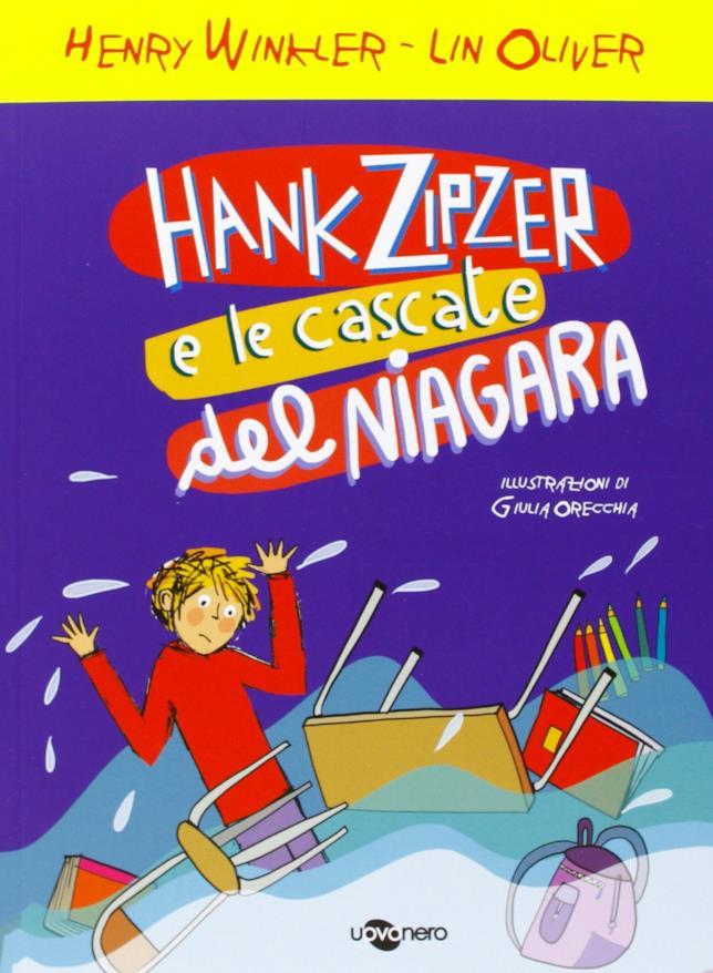 Copertina del libro Hank Zipzer e le cascate del Niagara