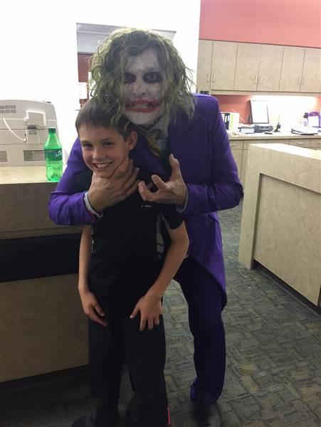 Brenden Selph e il Joker Paul Locus