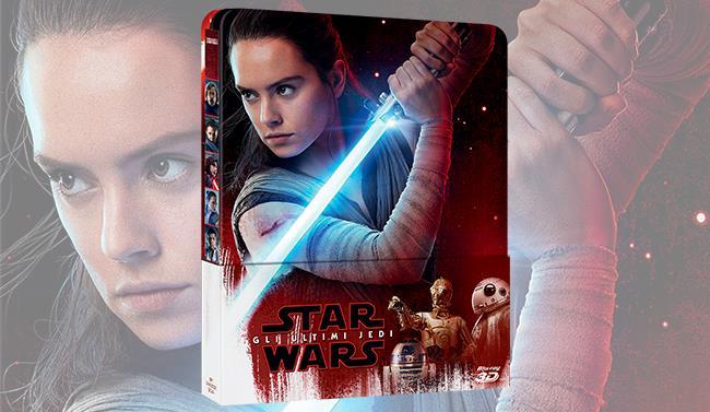 Steelbook di Star Wars: Gli Ultimi Jedi in Blu-ray 3D