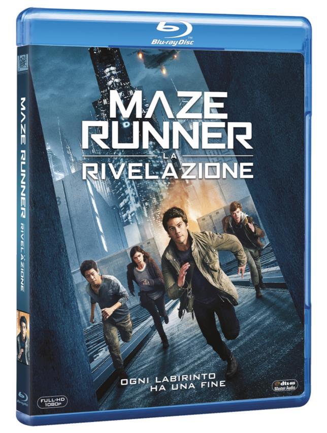 Maze Runner 3: la versione in Blu-Ray