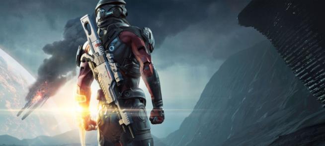 Il protagonista di Mass Effect: Andromeda sulla cover della Collector's Edition