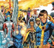 Un'immagine dei fumetti di X-Men