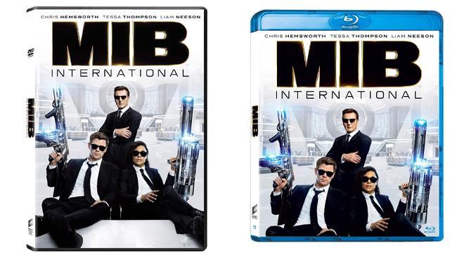 Men in Black: International: il film nei formati DVD e Blu-ray