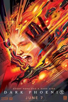 La fenice urla nel poster della WonderCon 2019