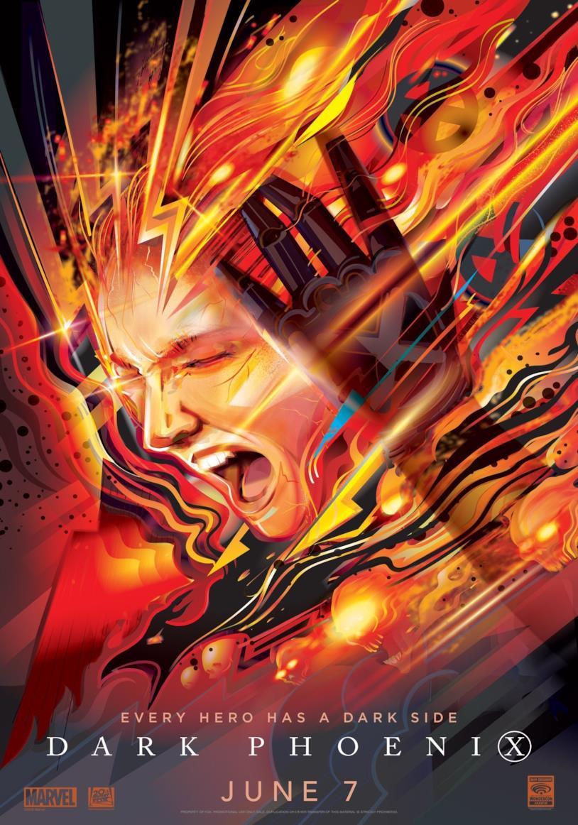 Il nuovo poster di X-Men: Dark Phoenix