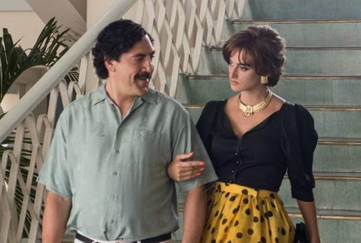 Una scena del film Loving Pablo