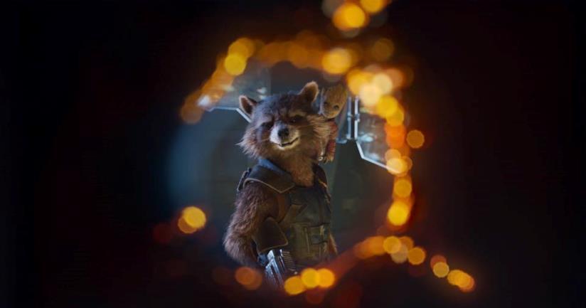 Rocket e Groot in Guardiani della Galassia Vol. 2