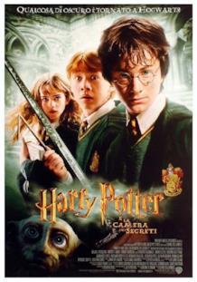 Il poster italiano di Harry Potter e la camera dei segreti