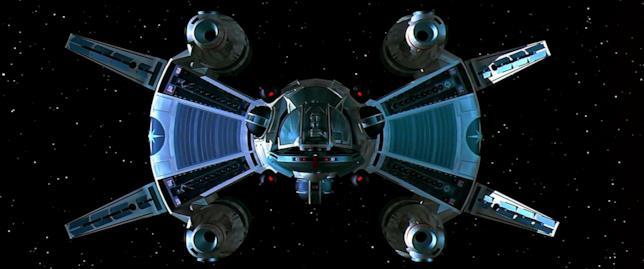 L'astronave della Lega Stellare di Giochi Stellari