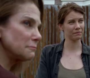 The Walking Dead: Deanna e Maggie in un'inedita scena della stagione 6