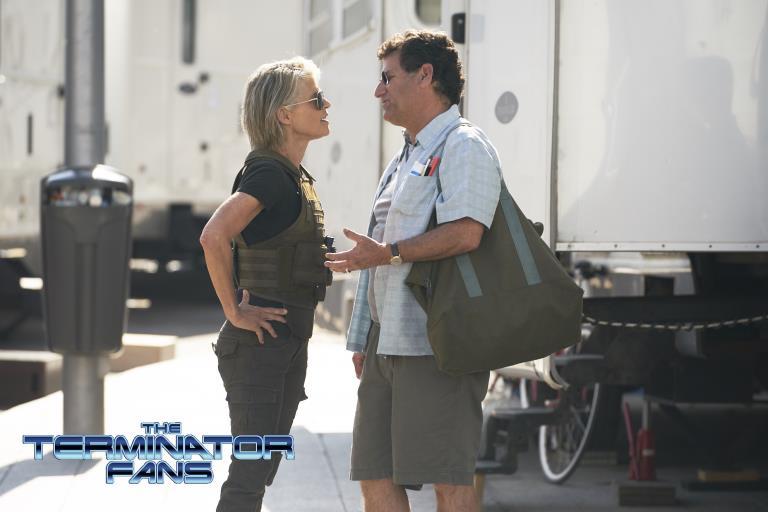 Linda Hamilton in Spagna per girare Terminator 6