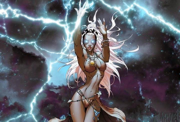 Tempesta scatena i suoi terribili poteri